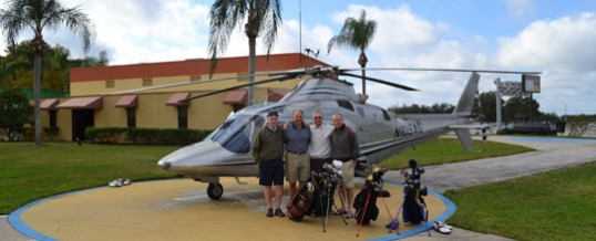 Helicopter Golfing Charter, Orlando fl