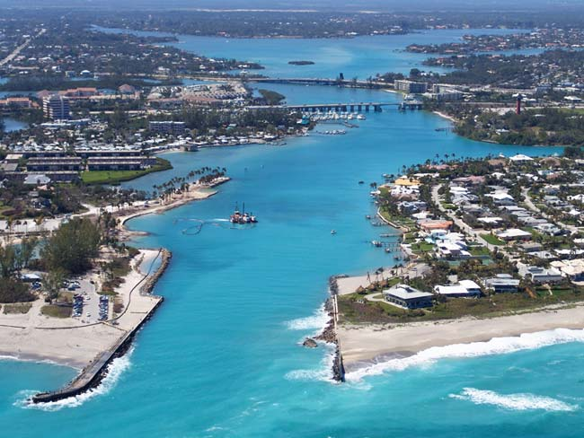 Jupiter florida helicopter charters and services for Jupiter inlet fishing